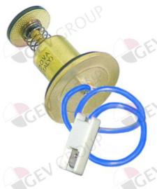 101065 - Magneetspoel met kabel L 44mm,D1 ø 30mm D2 ø 20mm passend voor NOVASIT