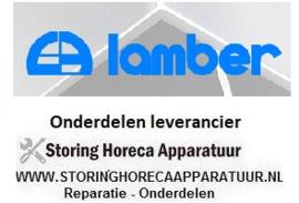 LAMBER - HORECA EN GROOTKEUKEN VAATWASSER APPARATUUR REPARATIE ONDERDELEN