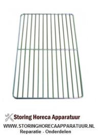 025970120 - Draadrooster GN 1/1 B 325mm D 530mm staal verchroomd draadsterkte buitenring 7mm