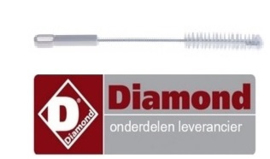 659P10.002 - Reinigings borstel voor slagroommachine DIAMOND MCV/2