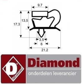 58941801031 - DICHTING VOOR LADE CA1/3-PM DIAMOND
