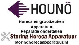 HOUNO STEAMER, OVENS HORECA EN GROOTKEUKEN APPARATUUR REPARATIE ONDERDELEN