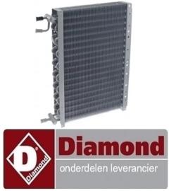 28419619 - Verdamper voor DIAMOND koelwerkbank  TP2+3+4B(N)/L+TS31-US/L