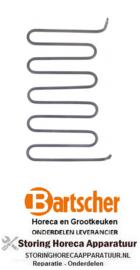 122419003 - Verwarmingselement 1550W 240V contactgrill BARTSCHER
