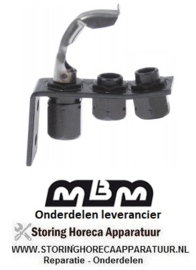 645RTCP800034 - Waakvlambrander 1-vlammig gas friteuse MBM GF077