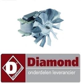 348A03063 - VENTILATOR MOTOR VOOR CONVECTIEOVEN DIAMOND