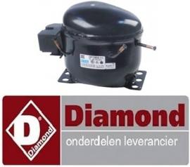 11012139055- Compressor R290 voor diepvrieskast DIAMOND