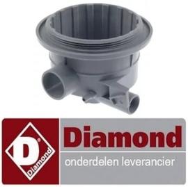 635136030 - Aanzuig/afvoerdeel  vaatwasser DIAMOND DC502