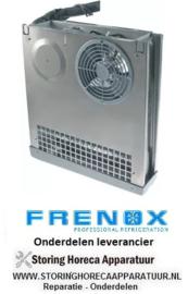 136750402 - Verdamper L 420mm H 455mm dikte 105mm voor 2 deurige koeling