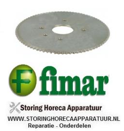 256SL0100 - Kettingtandwiel deegmenger FIMAR 25-38 S-C-F