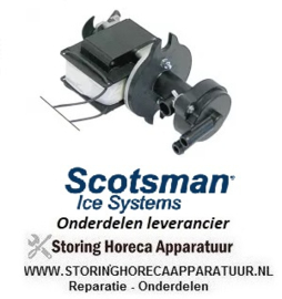 236500046 - Pomp ijsblokjesmachine  REBO type NR40, 40W, 230V, 50Hz ingang ø 12mm uitgang ø 12mm, L 75mm rotatierichting rechts SCOTSMAN