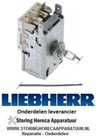 6176151753 - Thermostaat  capillaire 2000 mm instelbereik -40 tot +40°C LIEBHERR