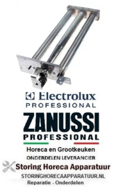 421105640 - Pastakoker Staafbrander 2-rijen  Afmeting : L 525mm B 210mm H 90mm  Electrolux, Zanussi