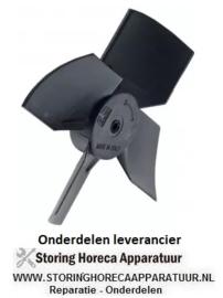 165602089 - Ventilatorblad drukkend ø 100 mm vleugelhoek 30° kunststof