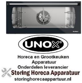 289KDR1067A  - Complete deur voor Unox Heteluchtoven Line Miss Elena Analoog XFT183