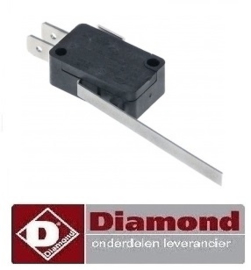773.761.004.00 - MICRO SWITCH  VOOR FRITEUSE DIAMOND E60 - PRO 600