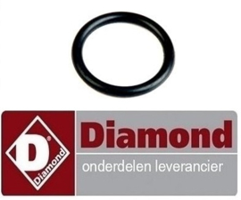 0535.00001.00 - O-ring pakking Ø 6 x 1,8 mm Viton DIAMOND COMPACT