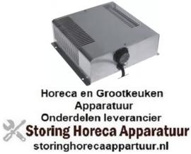 201418863 - Verwarmings unit voor warmtekast 2000W 230V 50Hz VC 1 L 278mm B 310mm H 92mm 30-90°C