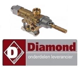 8970C0205 - Gaskraan DIAMOND GASFORNUIS G22/2B4T-N