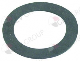 501066 - Meiko Vlakpakking rubber D1 ø 78mm D2 ø 60mm materiaaldikte 2mm vpe 1stuk