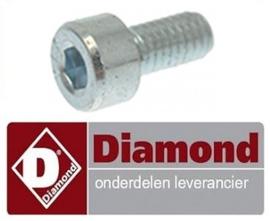 010F2001 - Schroef Combinatie vleesmolen n° 12 en parmesaanrasp DIAMOND TG12
