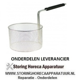 425970439 - Friteusekorf ROND staal verchroomd Electrolux, King