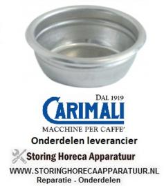 4721400769 - Koffiefilter kopjes 2 hoeveelheid koffie 14 gram  CARIMALI