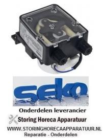 8203.617.67 - Doseerapparaat SEKO 3l/h 230 VAC wasmiddel slang ø 4x6mm slangtype K slang Santoprene