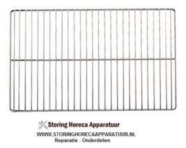 059958111 - ROOSTER  1/1 GN verchroomd lange draad