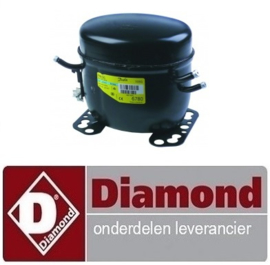 2336021010007 - Compressor koelmiddel R134a  DIAMOND MR-PIZZA/CP