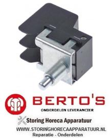 76233059400 - Microschakelaar met drukstift pen bediend friteuse BERTOS ELT18+18M-E