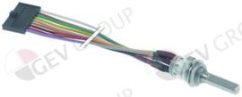 400849 - Potmeter rotatiehoek 360° voor friteuse kabellengte 300mm as L 214mm draad M10 as ø 5,9mm
