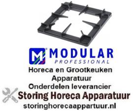 854210060 - Branderrooster B 400mm L 400mm gelakt MODULAR