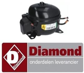12112172259 - Compressor voor de diepvrieskast DIAMOND N201X-R2