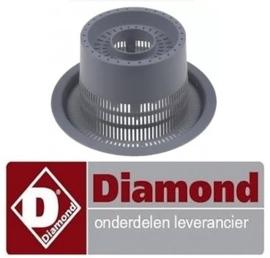 635121120 - Afvoerfilter voor voorlader vaatwasser DIAMOND DC502