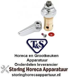 322594243 - T & S KRAAN Binnenwerk T&S old EB compleet warm water met greep