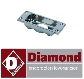 0670C4237 -  Flens L 125mm B 45mm voor deursluiting DIAMOND