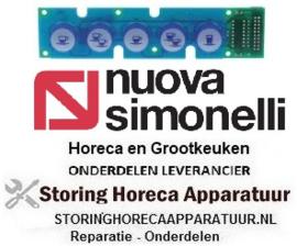514402395 - Bedieningsprintplaat L 160mm B 37mm voor koffie machine NuovaSimonelli