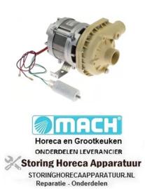 234500114 - Waspomp voor vaatwasser Mach 230 volt 45mm in 40mm uit