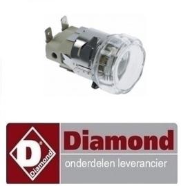 291563.004.00 - LAMP VOOR OVEN DIAMOND  GASTRO23/X -N - BRIO43/X-N - BRIO43S/X-N - BRIO64/X-N