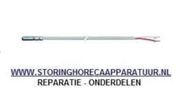 ST1379052 - Temperatuurvoeler PTC 1kOhm kabel silicone voeler -50 tot +150°C kabel -50 tot +180°C