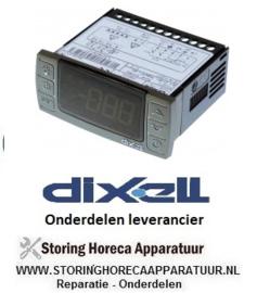 516378112 - Thermostaat elektronische regelaar DIXELL XR60CX-0N0C0 inbouwmaat 71x29mm 12V spanning AC/DC NTC/PTC