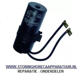 ST16021010037 - Startcondensator 80µF 220-300V 50-60Hz inschakeltijd 3min-1min DANFOSS SC ø 38mm, L 98mm, DIAMOND MR-PIZZA/CP