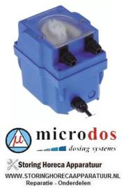 61240361780 - Vaatwasdoseerapparaat MICRODOS zonder sturing 1,5l/h 230 VAC wasmiddel slang ø 4x6mm slang Santoprene
