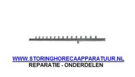 ST1695489- Spoelarm L 670mm sproeiers 15 voor ijsblokjestype A