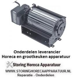 286601641 - Dwarsstroomventilator rol ø 60mm wals L 120mm gelamineerde kerndikte 15mm