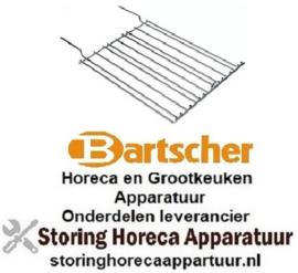 922210201 - Oplegrooster B 250mm D 315mm BARTSCHER