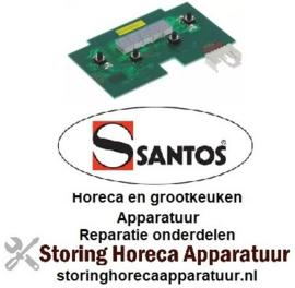 251402205 - Displayprintplaat voor doseerapparaat SANTOS