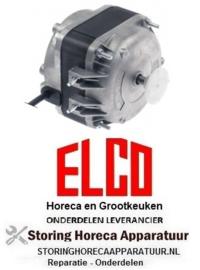 240601763 - Ventilatormotor 16W 230V 50/60Hz lager kogellager ELCO