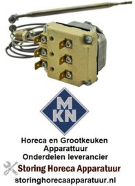 VE504375504 - Thermostaat instelbereik 95-220°C 3-polig 3NO 16A voeler ø 6mm voeler L 117mm voor MKN